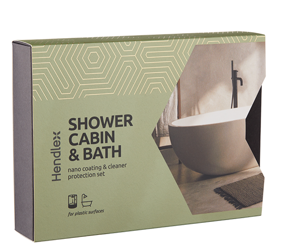 SHOWER CABIN AND BATH PROTECTION SET